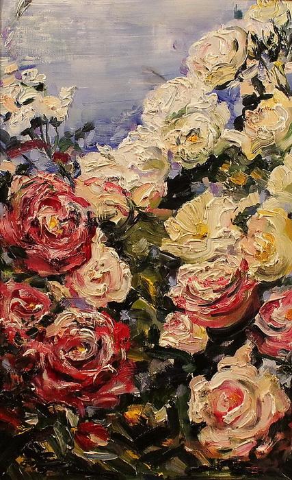 Розы и небо
